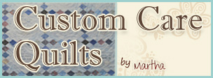 custom care quilts logo
